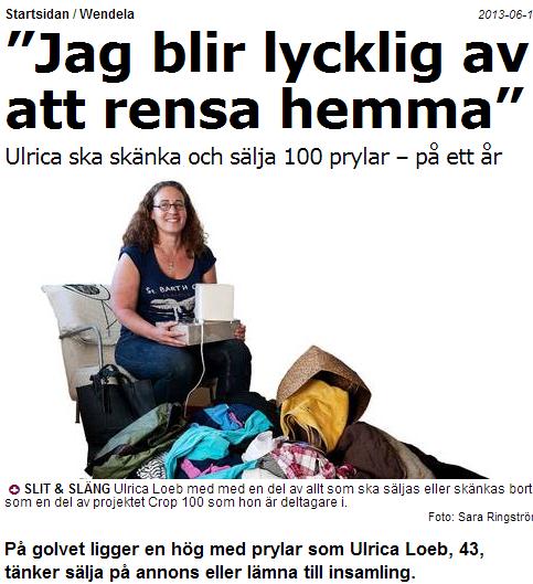 """""""Jag blir lycklig av att rensa hemma"""" _ Wendela _ Aftonbladet_2013-06-18_10-17-46"""