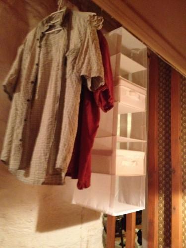 garderob med snedtak 1