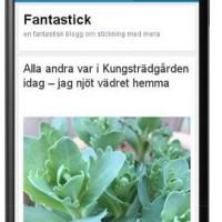 Testa din hemsida eller blogg så att den är mobilvänlig!
