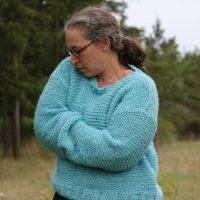 Skappelgenser – stortröja i mjukaste alpacka