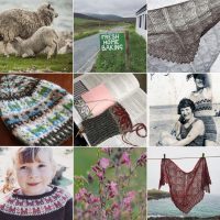 Featured on Shetland Wool Week Instagram