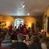 Stick- och täljgille på Langska huset i Visby